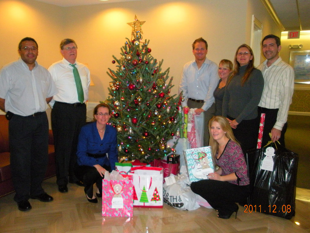 Angels Christmas Tree Toy Drive
