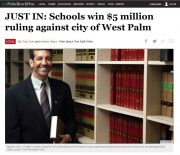 Nason Yeager Win Featured in the Palm Beach Post