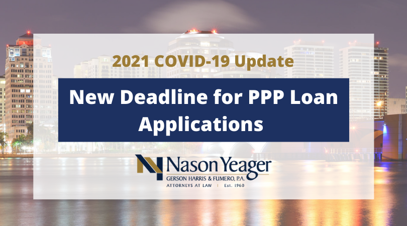 Key Considerations as New Deadline for Paycheck Protection Program Loan Applications Approaches
